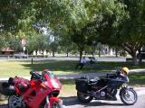 We take a break in Brawley