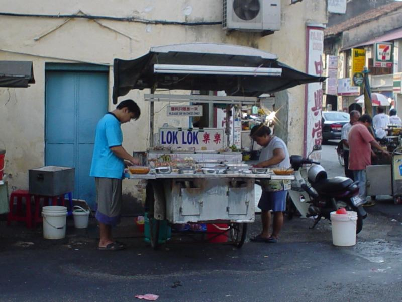 street food is delicious