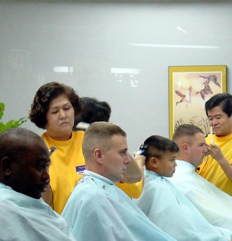 Through the Barbers Window