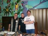Duke Robillard, me and Gerry Beaudoin