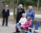 John Brown, Janet Flick, Mary Lou Kehr, Ethel Larus, McKenzie Flick.