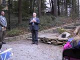 Ed Collins, sharing memories of Augie