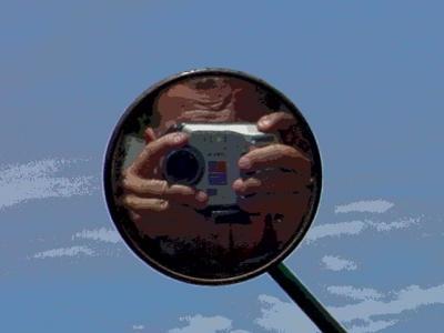 photo of photo taker
