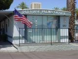 American flag  Paradise Palms Resort