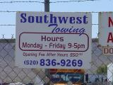 Southwest Towing 520-836-9269