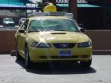 Mustang GT yellow