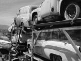 B&W truck load of 1954 at all bikes in Rye Arizona