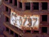 CS-0797 license plate