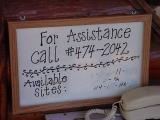 for assistance call fred hendrix Ox Bow Estates