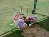 visiting Tarina on mothers day 2003
