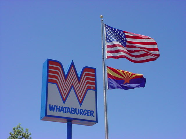 United States of America <br>Arizona and Whataburger