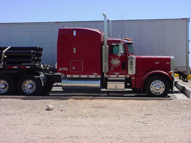 red big rig