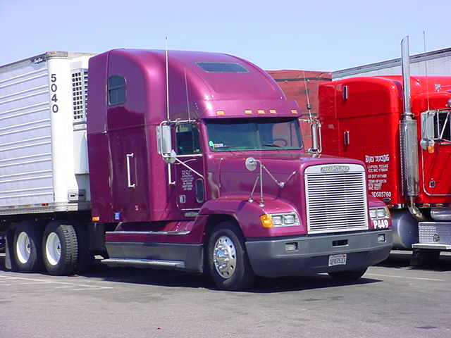 purple 5040 big rig trucker