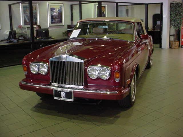 Rolls-Royce web site