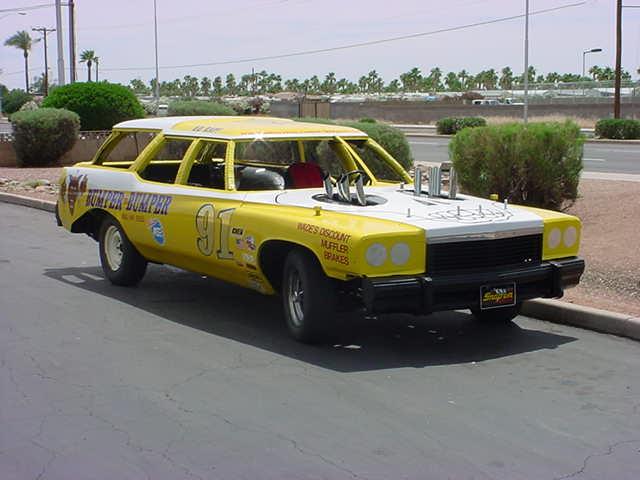 bumper to bumper racecar