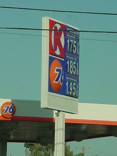 current gas prices 09-MAY-2003