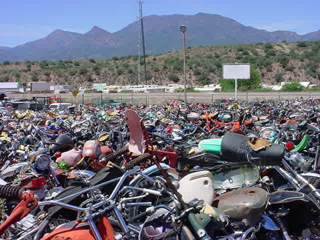 center all bikes in Rye Arizona looking west