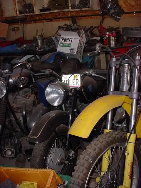 Adler motorcycle @ all bikes in Rye Arizona