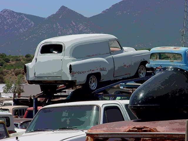1954 sedan delivery