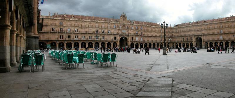 Plaza Mayor (Salamanca, Spain) (DV)