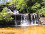 Waterfall at Wentworth Falls