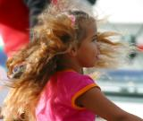 Aboriginal dancing child