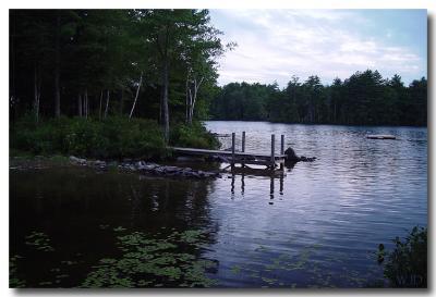 Damariscotta Lake, Maine, USA