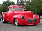 Willys pickup - May 2003 Twighlight Cruise