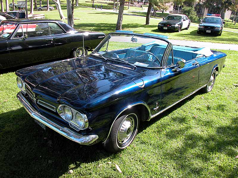 1962 Corvair Monza Convertible - Click on Photo for much more info
