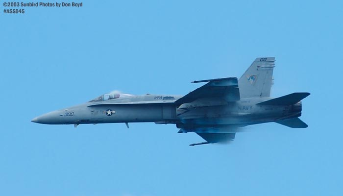USN F/A-18 Hornet military aviation air show stock photo #4261