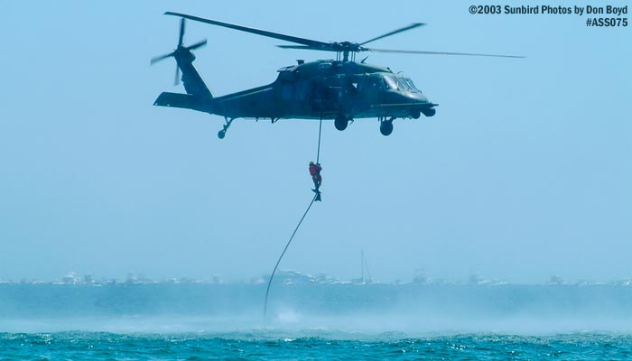 USAF HH-60G Pave Hawk military aviation air show stock photo #4399