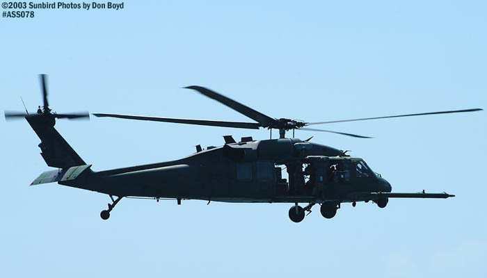 USAF HH-60G Pave Hawk military helicopter air show stock photo #4405