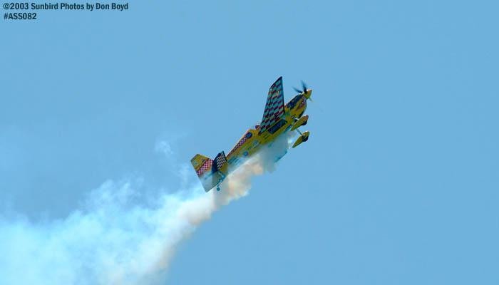 Ian Grooms Dark Dog Edge 540 aerobatic aviation stock photo #4411