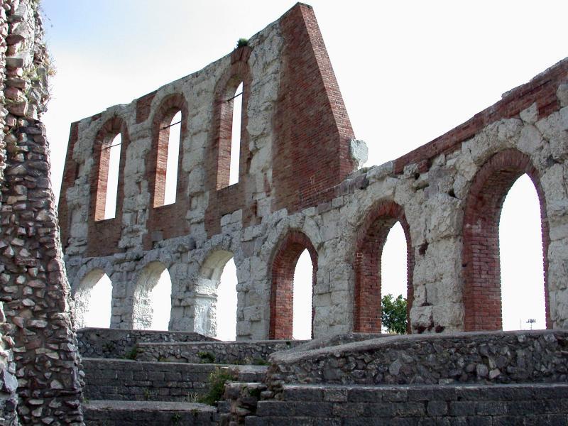 Roman Theater, Gubbio, Umbria