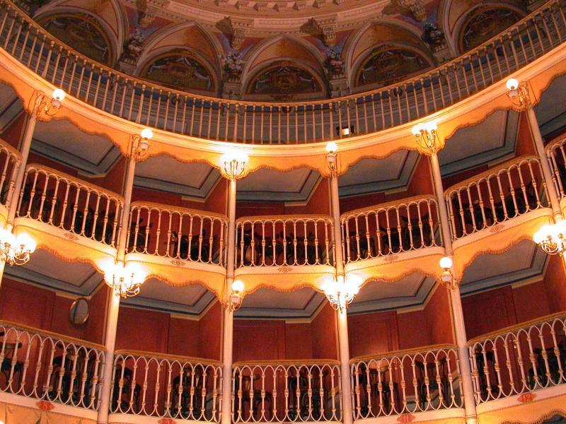 Theater, Bevagna, Umbria