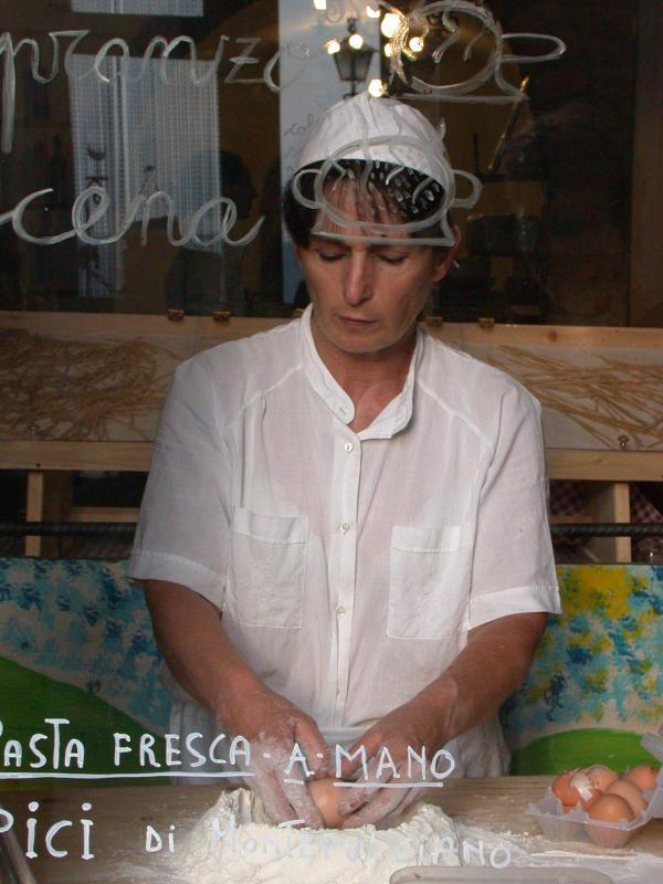 Making Pasta, Montepulciano, Tuscany
