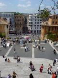 Down the Spanish Steps
