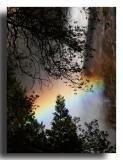 Rainbow at Bridalveil Fall