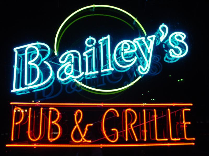 Baileys sign