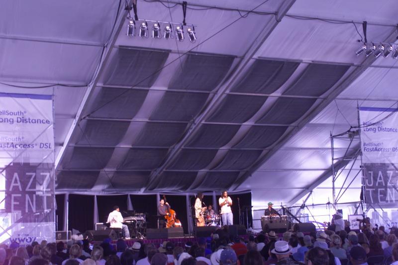 WWOZ Jazz Tent