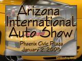Arizona International Auto Show, January 2003