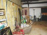 garage - pan #3 (from right to left) viewed from house entry