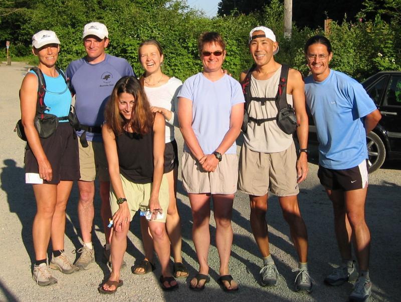 Cheri, Charlie, Kat, Leah, Kathy, Glenn & Tony