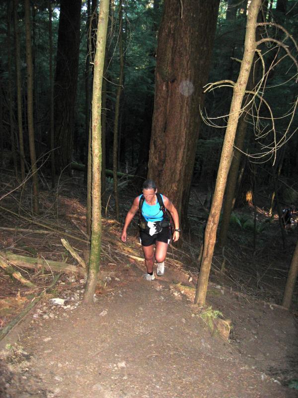 Cheri climbing Nook/Section Line