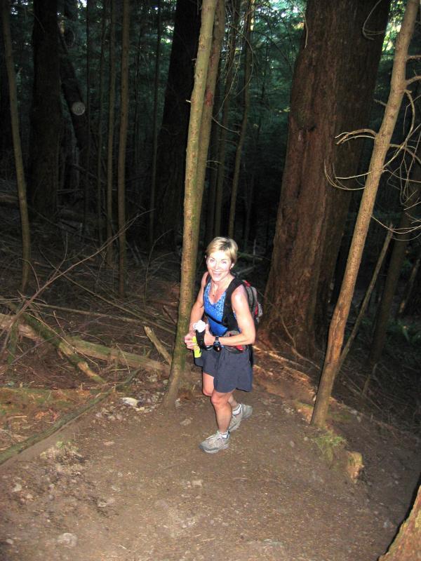 Marlis climbing Nook/Section Line