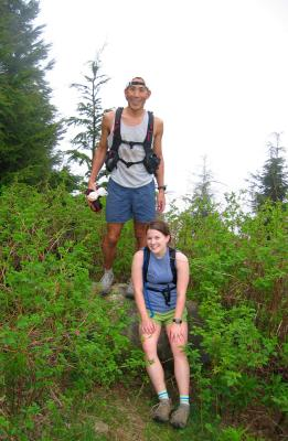 Summit 9 (East Tiger) - Glenn & Deb on the rock