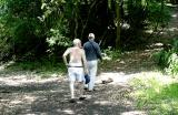 Two Men Wandering