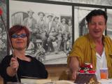 Hubsi Kramar und Christine Werner in Hallein 2003