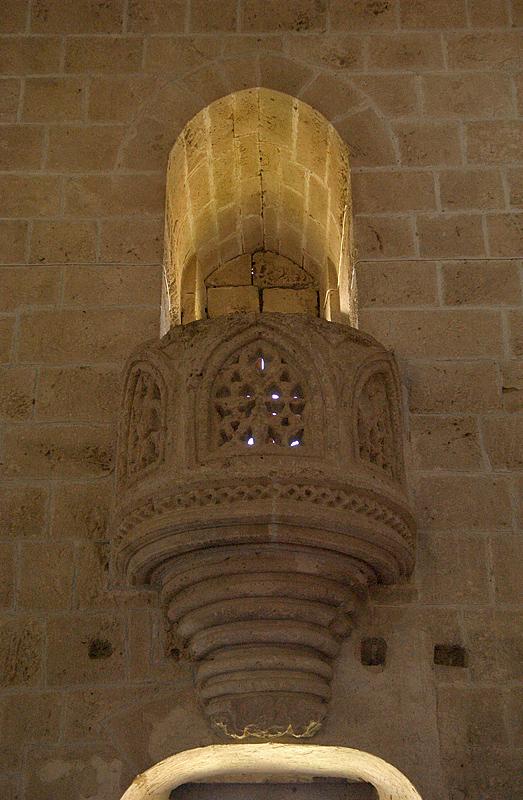 Bellapais, refectory pulpit