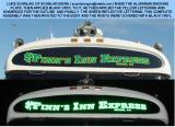 DAY NIGHT COMPARISON OF THE  FINNS INN EXPRESS SIGN
